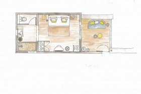 Couple Seafront (25 m2)